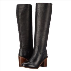[ Seychelles ] Obsodian Knee High Leather boot